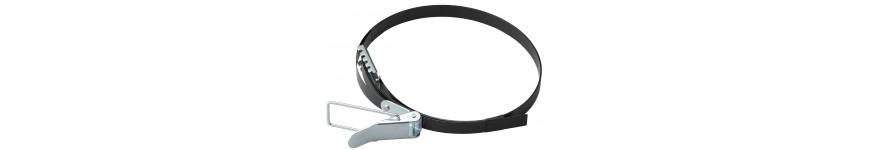 Straps and collars for vacuum cleaner chip - Probois machinoutils