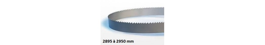 Bandsaw blade length 2895 to 2950 mm - Probois machinoutils