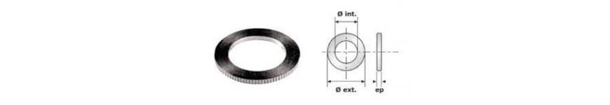 Ring of reduction for saw blades - Probois machinoutils